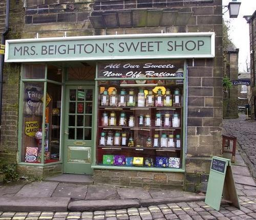 Beautiful Yorkshire...Mrs Beightons Sweet cửa hàng In Haworth
