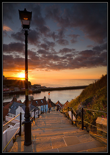 Beautiful Yorkshire....The 99 Steps In Whitby