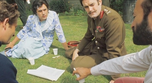 Monty Python wallpaper entitled Behind-the-scenes
