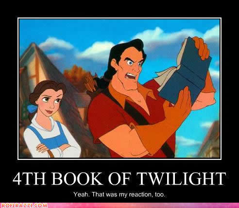 Belle and Gaston about Twilight