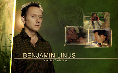 Benjamin Linus wallpaper containing a sign titled Ben Linus