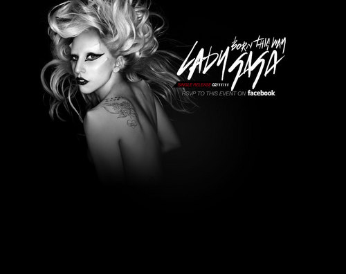 Born This Way (Official Wallpaper)
