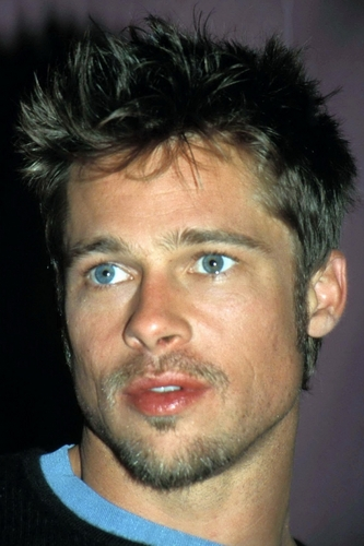 Brad Pitt wallpaper containing a portrait called Brad Pitt photoshoot (HQ)
