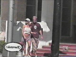 Britney & Justin-2000; October 01 - Out for some shopping in Miami