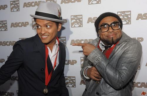 Bruno Mars and Philip Lawrence - bruno-mars Photo