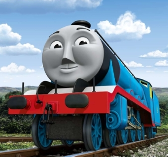 Thomas the Tank Engine Hintergrund titled CGI Gordon