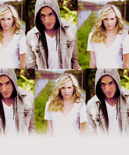 Candice/Michael (4wood) প্রণয় Them 2gether (Wolfvamp) 100% Real :) x