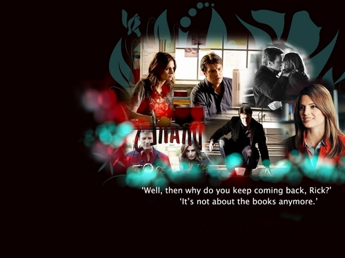 Castle & Beckett wallpaper possibly containing a concert called Castle&Beckett <3