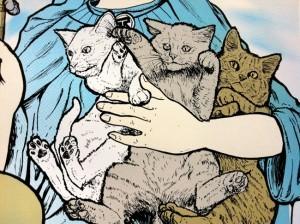 Cat Power Rock Poster