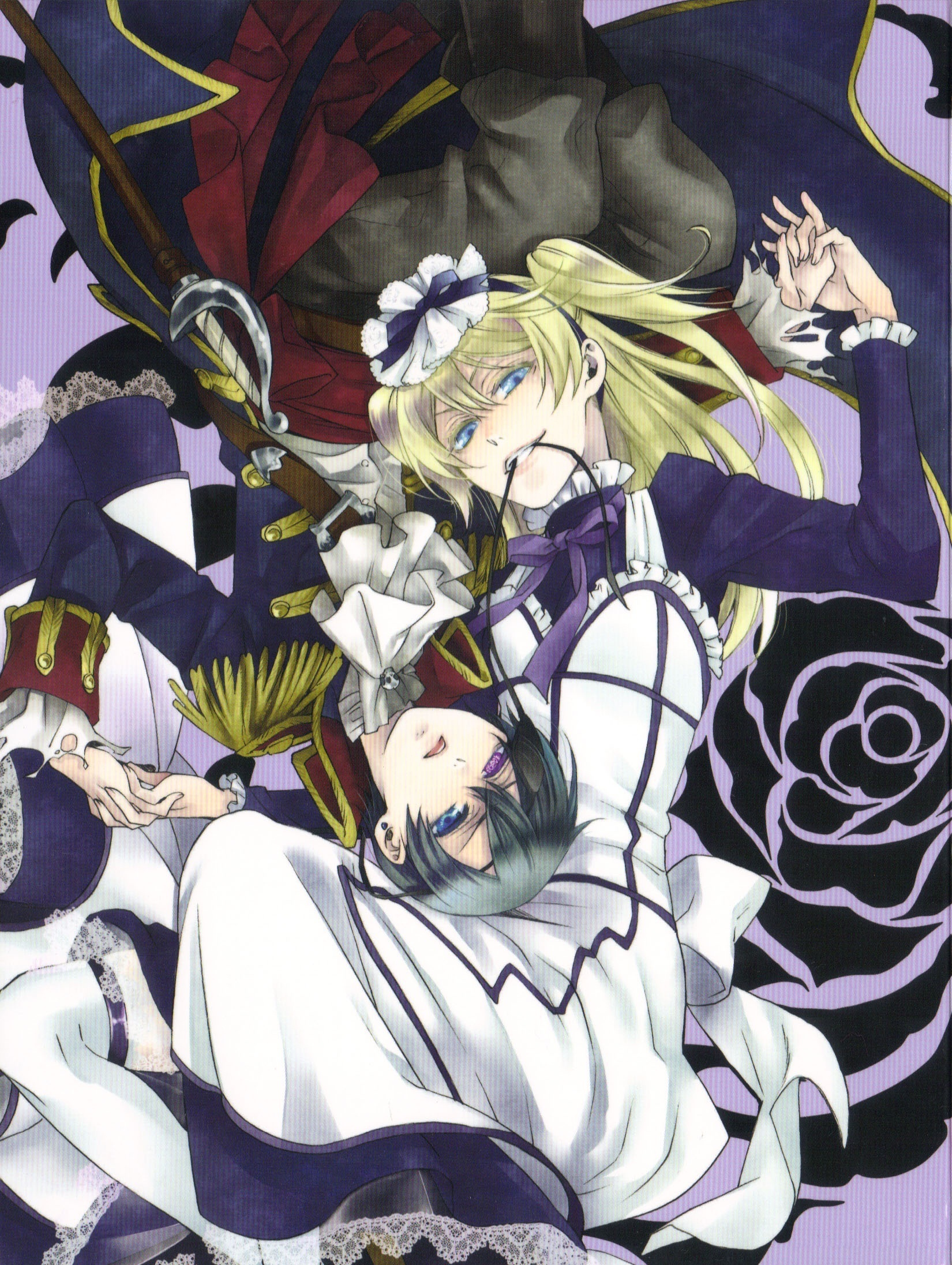 Kuroshitsuji Images Ciel And Alois HD Wallpaper Background Photos