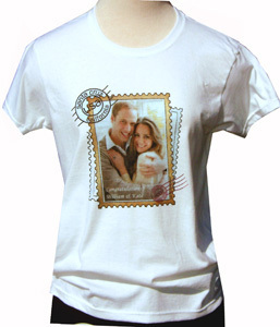Commemorative Prince William And Kate T-Shirt