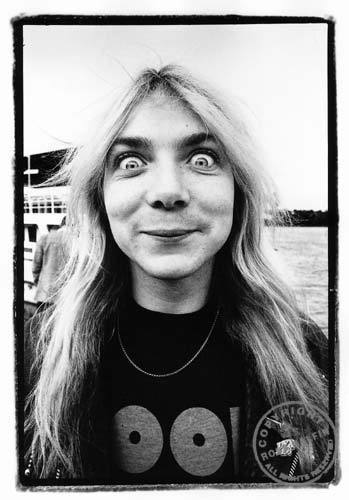 Dave Murray Looks Insane