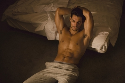 David Gandy by Jimmy Backius