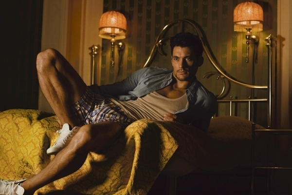 Male Models David Gandy by Jimmy Backius