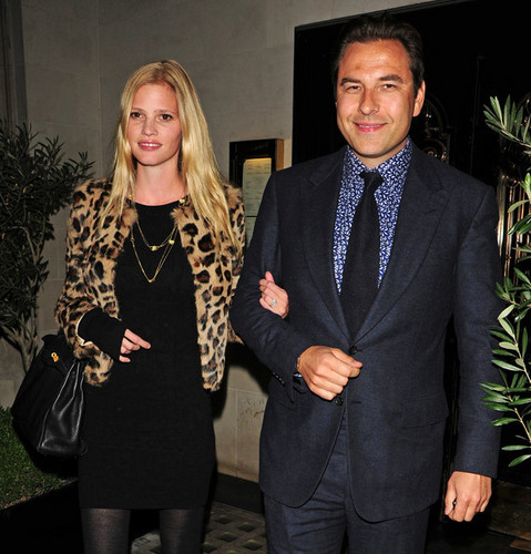 David Walliams and wife Lara Stone