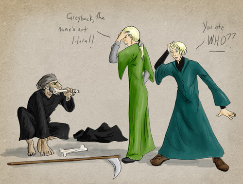 Death Eater (Literally!)