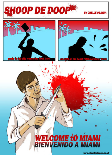 Dexter fan Art webcomic
