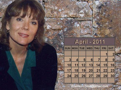 Diana - April 2011 (calendar)