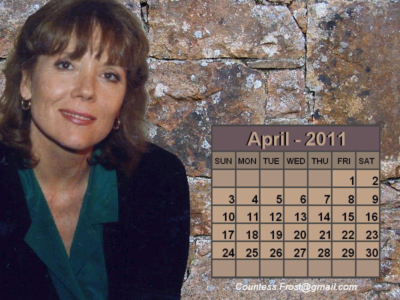 april 2011 calendar. Diana - April 2011 (calendar)