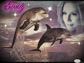 Emily Procter-Dolphins - emily-procter fan art