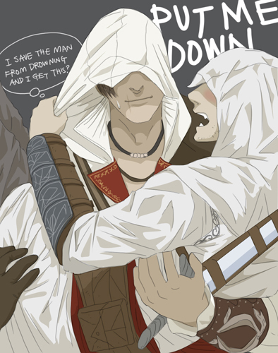 Ezio And Altair Ezio And Altair Fan Art 19143362 Fanpop