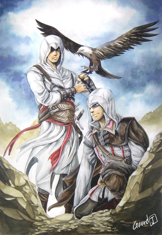 Ezio and Altaïr images Ezio and Altair HD wallpaper and ...
