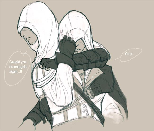 Assassin's Creed Altair vs Ezio