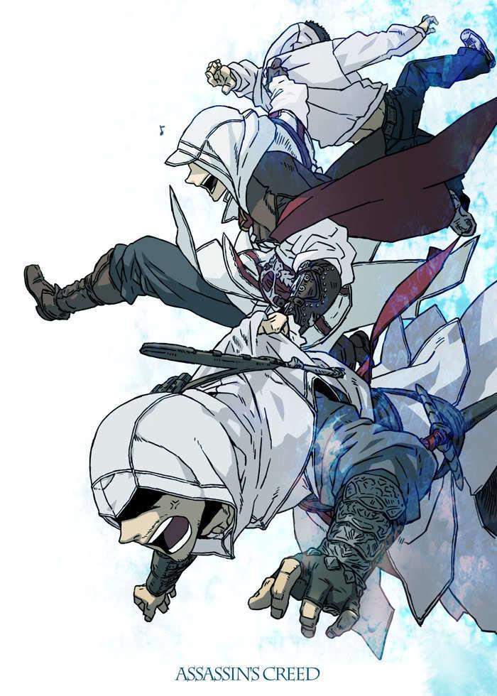 Assassin's Creed Altair and Ezio