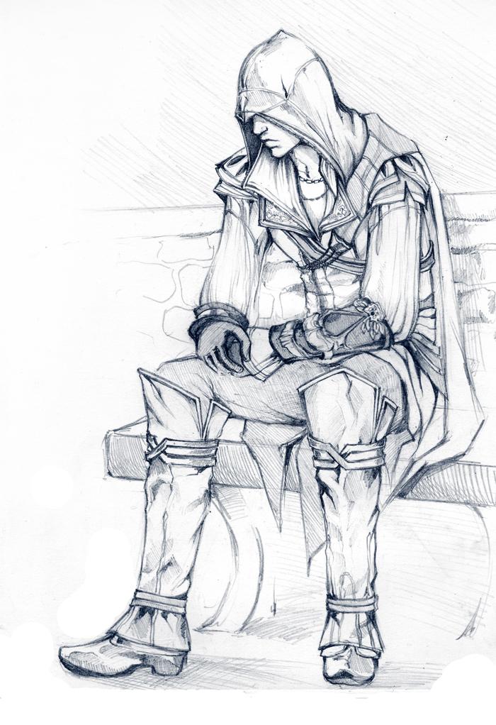 Ezio - Ezio Auditore da Firenze Fan Art (19142361) - Fanpop