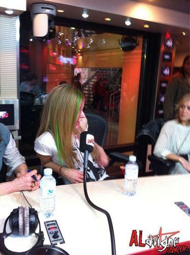 February 8 - NRJ Radio in Paris