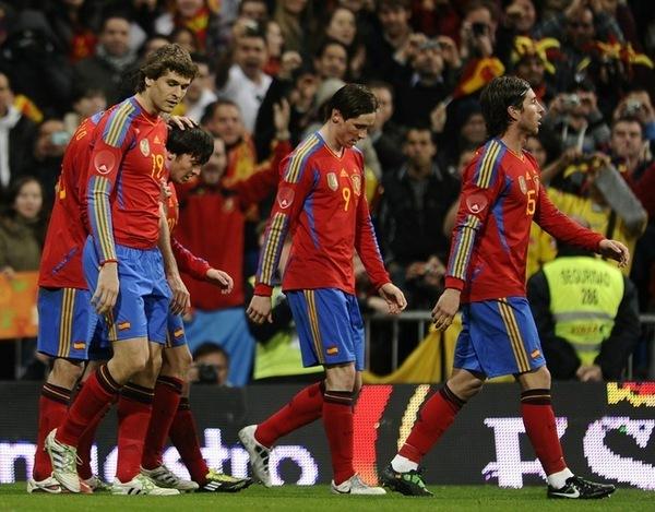Fernando Llorente - Spain 1-0 Colombia (friendly 9.02.2011)
