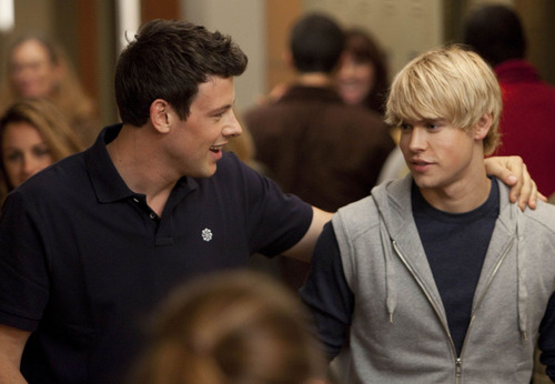 Finn & Sam Glee