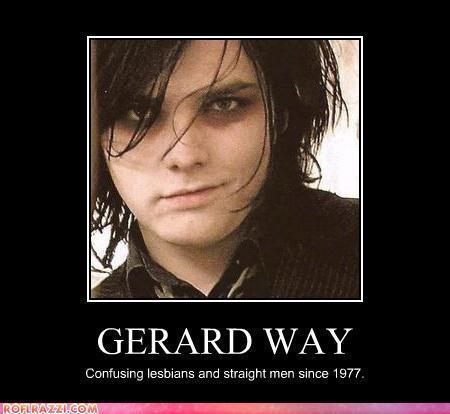 My Chemical Romance wallpaper possibly containing anime and a portrait called Gerard <3