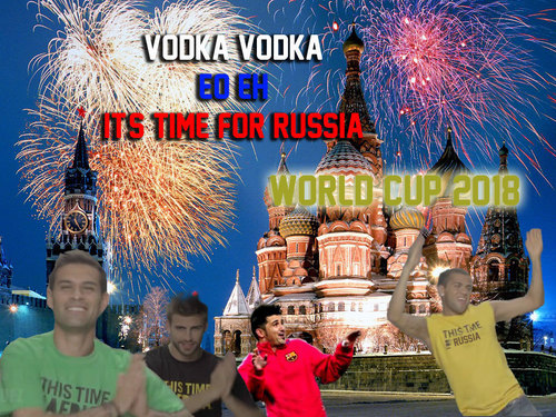 Gerard Piqué vodka vodka 2018