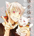 Gilbert's kitty kat - hetalia-prussia photo