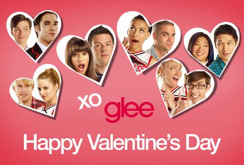 ग्ली celebrate the Valentine's दिन !