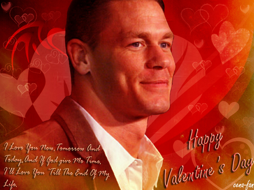 Happy Valentine&#39;s day CeNation - john-cena Wallpaper