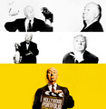 Hitchcock - alfred-hitchcock fan art