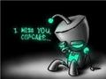 I'll miss you, cupcake