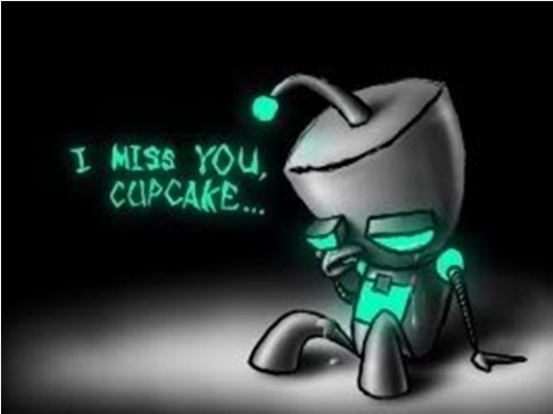 I'll miss you, cupcake