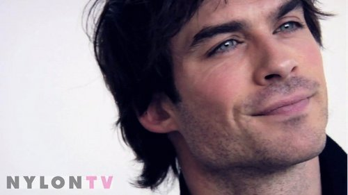 Ian....HIS EYES!