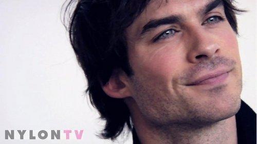 Ian....HIS EYES!