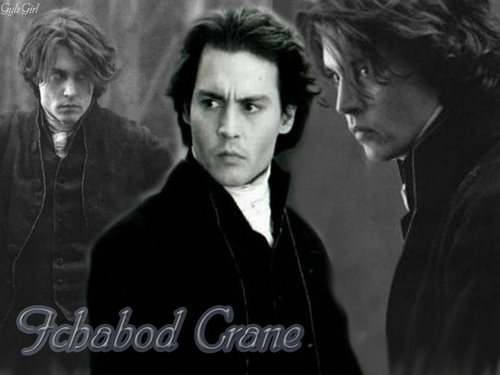 Ichabod Crane Sleepy Hollow wallpaper possibly containing a portrait called Ichabod Crane