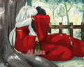 Inuyasha and Kagome - inuyasha-and-kagome fan art