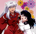 Inuyasha and Kagome - inuyasha-and-kagome photo