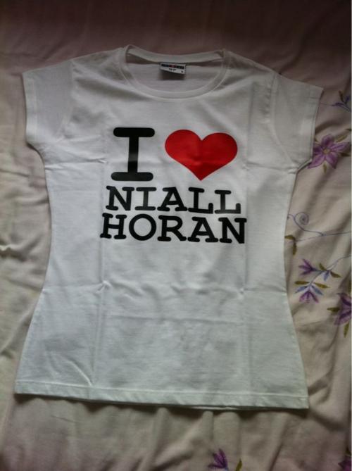 Irish Cutie Niall (I Cinta Niall Horan T-Shirt) 100% Real :) x