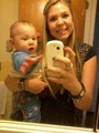 Isaac && His Mommy<3