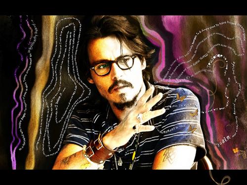 Johnny Depp Fan art