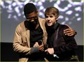 Justin Bieber Premieres 'Never Say Never' - usher photo