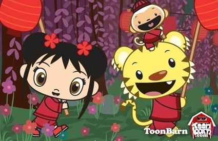 Kai-Lan, Rintoo and Hoho